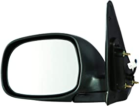 Gold Shrine Side Door Mirror Power for Toyota Sequoia Sr5 | Tundra Double Cab Limited 2001 2002 2003 2004 2005 2006 2007 Driver Left Side TO1320193