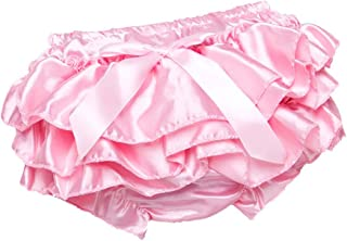 Ruth Wang B/éb/é Filles Ruffle Bloomers Bambin Solide Dentelle Tutu Culotte Culottes Couche Couvre Couches