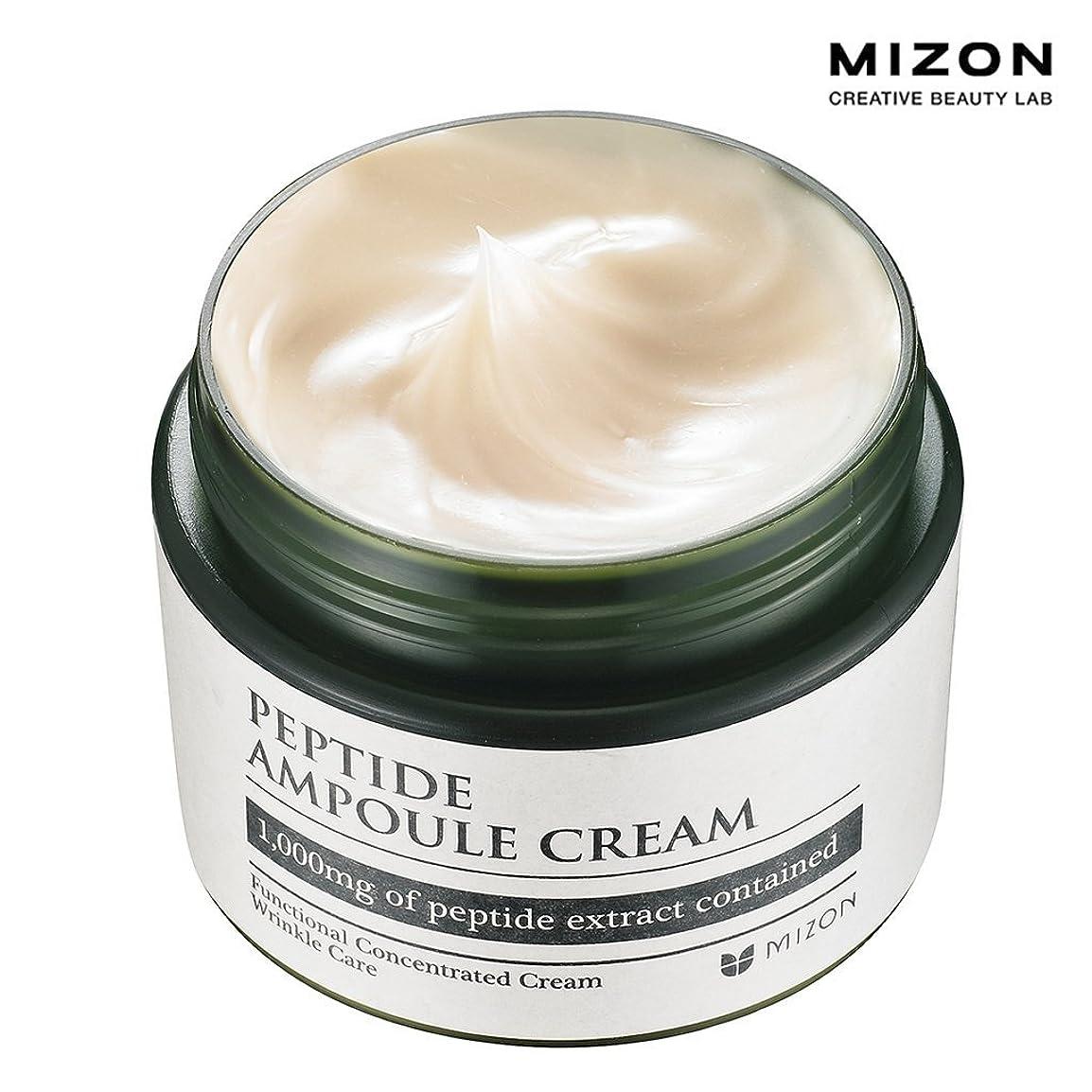 ハム伝説とは異なりMIZONミズオン Peptide Ampoule Cream 50ml ペプチドアンプルクリーム [韓国直送品]