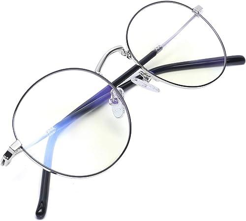 Zéro D Blue Light Glasses Lightweight Blue Light Blocking Glasses for Men Women Computer Gaming Glasses Anti Eye Stra...