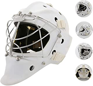 Hockey Helmet,Ice Hockey Mask Cage Strong Impact Resistance Face Mask,Protective Gear Explosion-Proof Goalkeeper Protector...
