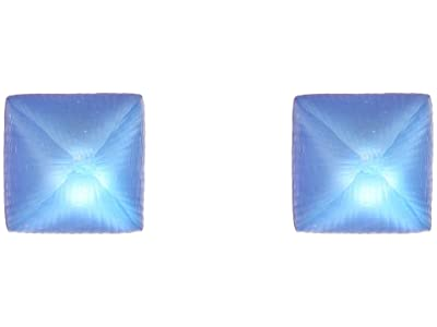 Alexis Bittar Small Pyramid Post (Iridescent Iris) Earring