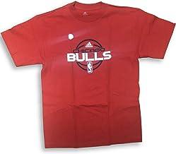 adidas Chicago Bulls Basketball Outline - Camiseta para hombre