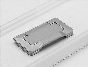 4 stks Lade Handvat Tatami Verborgen Handgrepen Zinklegering Pull Handvat Onzichtbare Lade Handvat Gat Centrum: 64mm Platt...