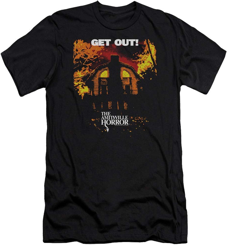 Amityville Horror  Mens Get Out Premium Slim Fit TShirt