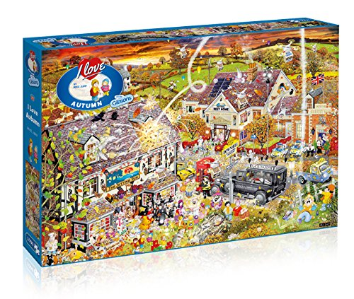 I Love Otoño–Puzzle, 1000Piezas