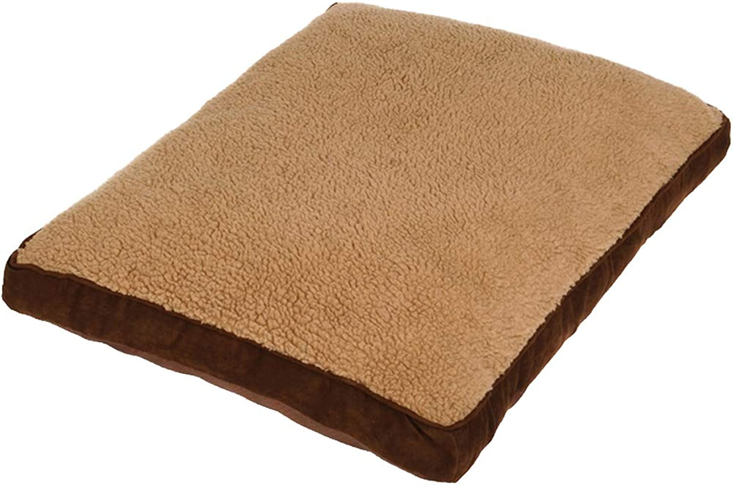 BYCWS Cat Dog Bed Dog Blanket Dog Bed Large Crate Pad Mat Soft Mattress AntiSlip 100% Washable Dog Mattress Pets Kennel Pads,29.53x23.62x4.33in