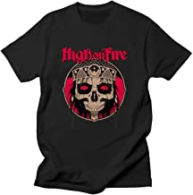 Paul Tayhgrom High On Fire Logo Funny Tee Men's Exclusive Customization Soft T Shirt