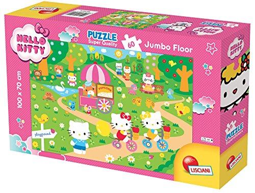 Lisciani Giochi 60016 - Puzzle SQ Jumbo Floor 60 Hello Kitty