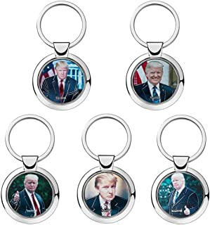 Donald Trump MAGA Make America Great Again Keychain 5 Pack of Signature Keychains for Men and Women