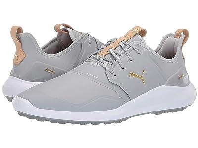 PUMA Golf Ignite Nxt Pro (High-Rise/Team Gold/White) Men