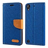 HTC Desire 530 Case, Oxford Leather Wallet Case with Soft