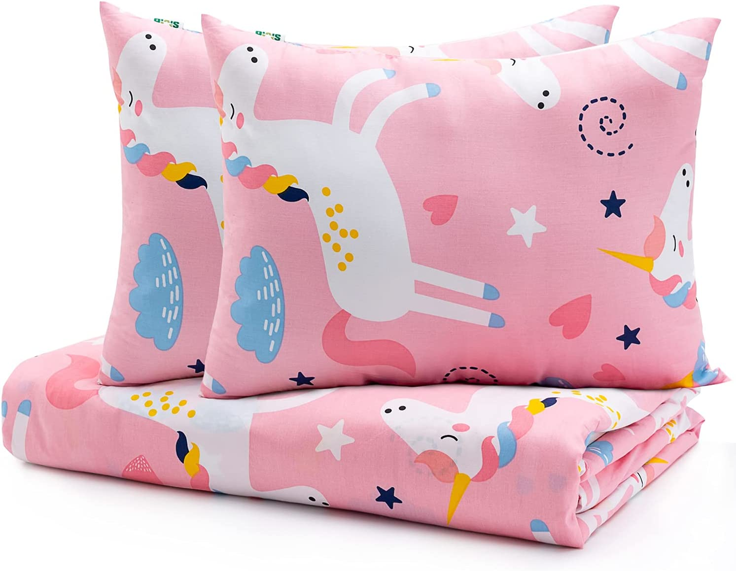 Sivio Unicorn Duvet Fees free Cover Full for 86x86 I Weighted Blanket Kids safety