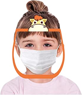 Fashion Kids Child Cartoon Anti-Fog Face Guard Anti-Saliva Safety Protection Mask
