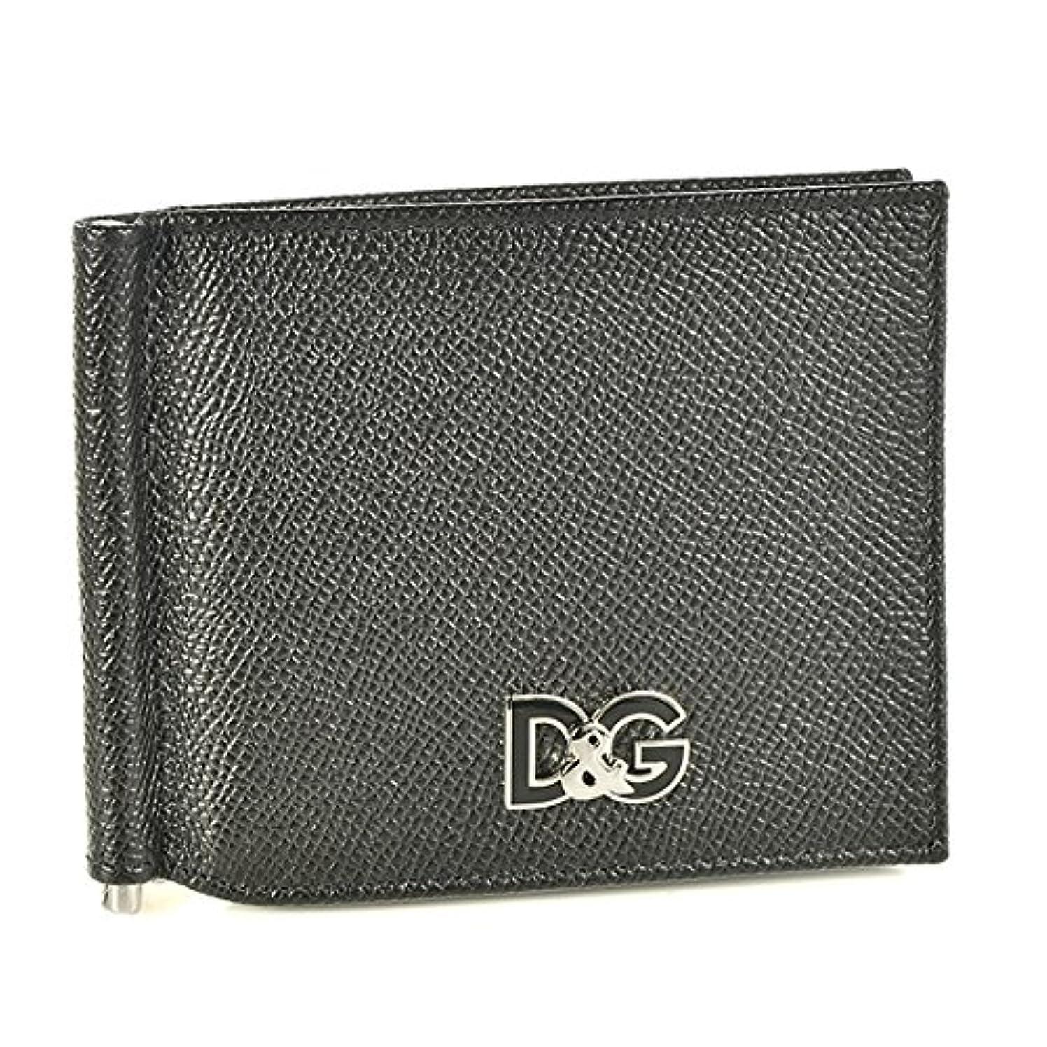 ドラム郡傷つけるDolce&Gabbana(ドルチェ&ガッバーナ) 財布 メンズ VITELLO 2つ折り財布 ブラック BP1920-AI945-80999 [並行輸入品]