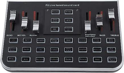 BeesClover - Scheda Audio Digitale Portatile, Mixer Audio Digitale, Console di Mixing per Telefono Cellulare Live Broadcast Karaoke Voce per MC, Reverb, KTV e Soundtrack - Trova i prezzi più bassi
