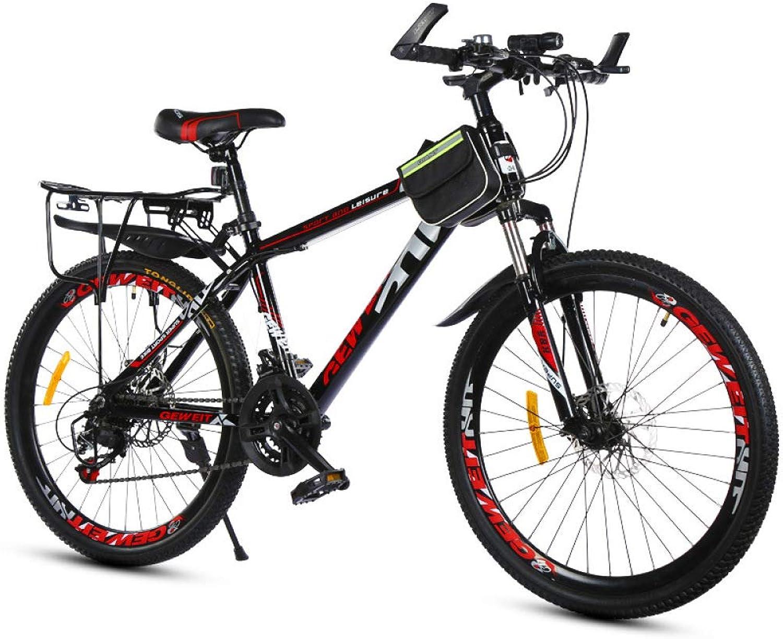 precios mas baratos Defect Defect Defect Montaña Bicicleta Velocidad Doble Freno de Disco Estudiante Adulto Coche Hombres y Velocidad Variable Montaña  Descuento del 70% barato