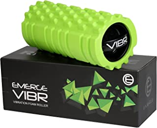Emerge Vibrating Foam Roller High Density 3 Speed Vibration for Muscle Recovery - Fully Rechargeable Electric Foam Roller...