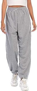 beifon Harem Pantalón Deportiva Mujer Pantalón Chandal Mujer Jogger Pants Cintura Alta Elástico Pantalón de Deporte Yoga F...