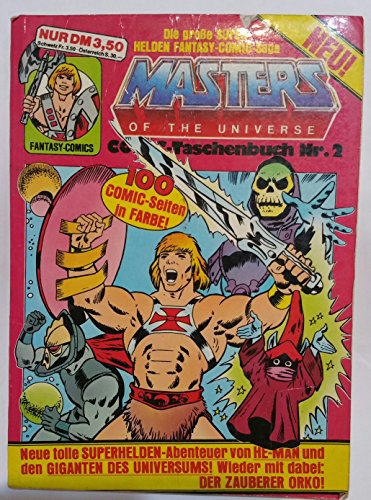 MASTERS OF THE UNIVERSE Nr. 2, 1988 Ehapa  DIN A4 mit Poster