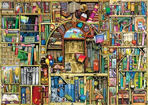 No 1000 Piece Wooden Jigsaw Puzzles Classic Rompecabezas De Juguete, Librería Extraña