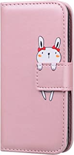 AKDSteel Anti-drop protective shell For S-a-ms-u-ng A01/A11/M11 Cartoon Protective PU Leather Case with Cards Slot Mobile ...