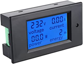 KKmoon AC80-260V 100A DigitalLcdCorriente Voltaje Activo Poder Energía DetecciónEnsayadorAmperímetro Voltímetro Multif...