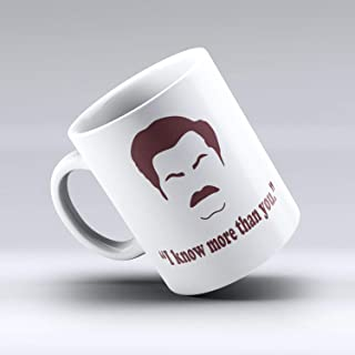 Ron Swanson Mug Ron Swanson Ron Swanson Quote Nick Offerman Parks and Recreation Funny Coffee Mug