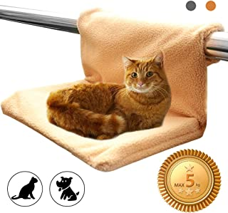 NARUTOO Washable Cat and Dog Radiator Bed, Strong Durable Metal Frame Warm & Comfortable, Max Pets Weight Up to 5KG