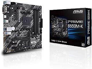 ASUS PRIME AMD B550M-K (Ryzen AM4) Micro ATX Motherboard