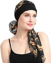 Dames Chemo Tulbandhoeden Beanie Sjaal Hoofddeksels voor kankerpatiënten