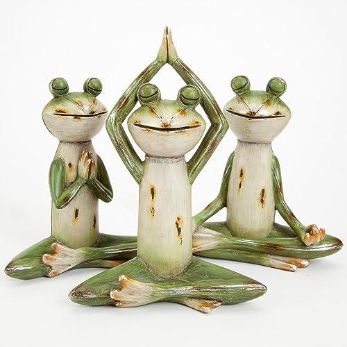 Yoga Home Decor Statue Amazon Com
