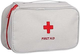 Trousse de Premiers Secours Sac Médical Portable Sac de Rangement First Aid Kit Extérieur pour Maison Voyage Promenade Alp...