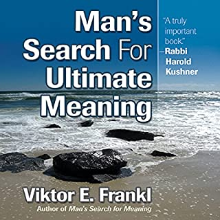 Man's Search for Ultimate Meaning audiobook cover art