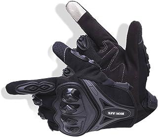 BORLENI Guantes de Moto Transpirable Verano con Pantalla Táctil para Ciclismo.