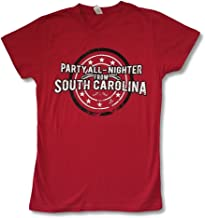 Jason Aldean Party All Nighter South Carolina Girls Juniors Red T Shirt Soft