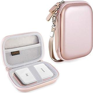 کیف حمل Canboc برای Canon Ivy Mini CLIQ CLIQ + چاپگر دوربین فوری بی سیم بلوتوث تلفن همراه قابل حمل پرینتر عکس ، گلدن رز