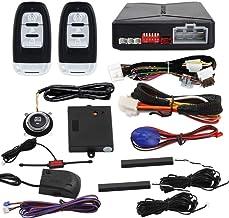 $119 » EASYGUARD EC010-MS PKE car Alarm Passive keyless Entry with Push Button Start & Remote Starter, Microwave Sensor Shock Ala...
