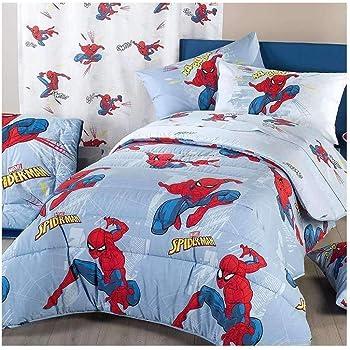 Piumone 1 Piazza E Mezza Disney.Caleffi Trapunta Spiderman Time 1 Piazza E Mezza Disney Amazon It Casa E Cucina