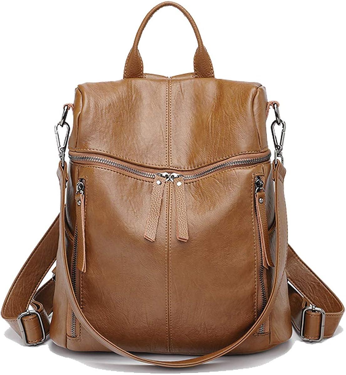 Tisdaini Women's wholesale Backpack Fashion leather casual teen sale Sho travel