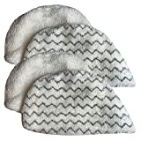 Crucial Vacuum Replacement Mop Pads - Compatible with Bissell Part # 5938 & 203-2633 - Bissell Powerfresh Mop Pads Perfect for Steam Mops 19402, 19404, 19408, 1940A, 1940Q & 1940T - Washable (4 Pack)