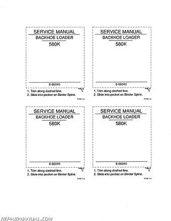 Amazon com: Manual For Case 580k: Books