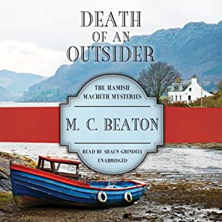Death of an Outsider audiobook cover art