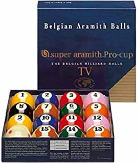 Super Aramith Tv Pro-Cup Pool Ball Set