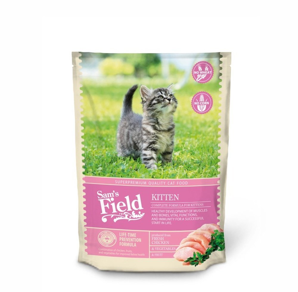 SAMs Field Cat Kitten gato Forro Gatos trockenfutter cereales libre sin gluten: Amazon.es: Productos para mascotas