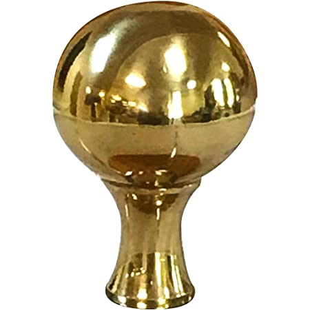 Antique Brass Ball Lamp Shade Finial