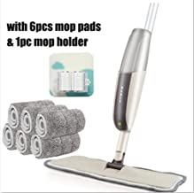 Mop Spray Floor Household Kitchen Reusable Microfiber Mat Used for Laminated Wood Tiles 360 Degree Handle Mop Floor Cleaning