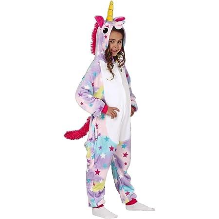 Kauson Unicorno Pigiama Kigurumi Animal Cartone Cosplay Carnival Costume OnesieTute Animato Costumi Pigiameria Regalo di Compleanno Festa Halloween Natale