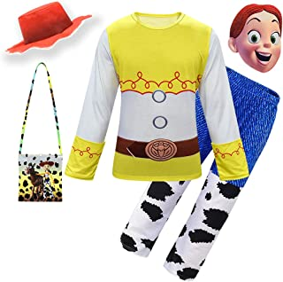 Thombase Boys Woody and Buzz Lightyear Halloween Cosplay PJS Funny Costumes