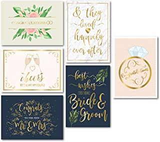 gold greeting cards